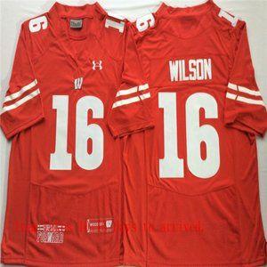 Wisconsin Badgers Russell Wilson Jersey